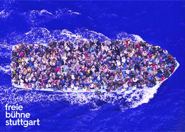 In einem Boot